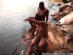 Black GFs Outdoor Bath & Pee