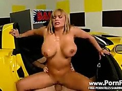 Shyla Stylez Dirty Car Sales Woman