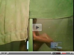 Crazy Funny Horny Girl Under The Shower