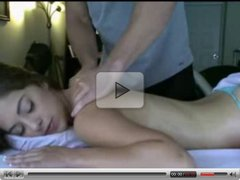 Massage and sex - young girl have a bid pussy FULL VIDEO