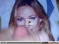 Cum Video over Blonde OLIVIA WILDE 2