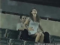 Public Sex At The Stadium