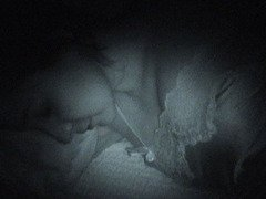 Fingered in Sleep on Night Vision Cam