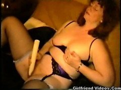 Hairy Wife Vibrator Fun
