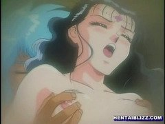 Princess hentai with bigtits self masturbation