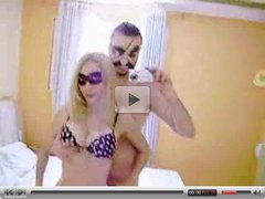 Amateur Couple fuck in masks