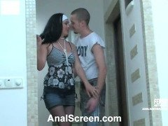 Laura&Mike nasty anal video