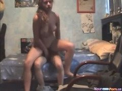 Cute Teen Couple Homemade Sextape