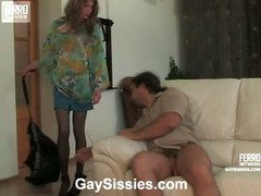 Randolph&Lesley kinky gay sissy video