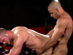 Doggystyle gay anal fucking for gay studs tight ass