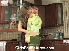 Helena&Emilia pussyloving mature in action