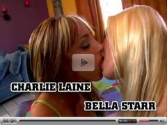 Charlie and Bella Lesbian Playtime