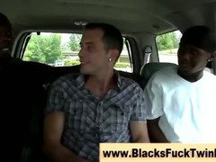 Interracial ebony and ivory fuck session gets occuring