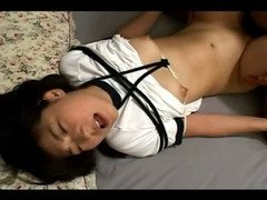 Japanese teen gets roped