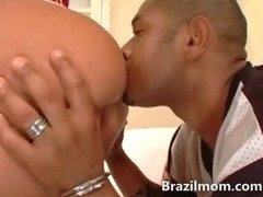 Huge assed brazilian milf wants dick inside of her giant butt
