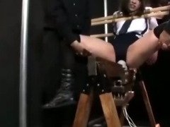 Magic Wand torture - The punishment of the small tits