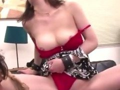 Sweet asian adores toys in her asshole