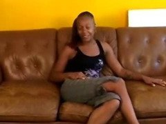 Hot And Swet Ebony Rubbing Solo