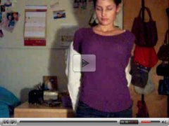 she strip in front of her webcam.flv