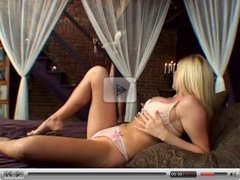 British slut Michelle B in an anal FFM threesome scene