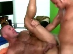 Hot straight guy assfucks gay mature masseur guy good