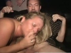 Real amateur slut public blowjob fuck