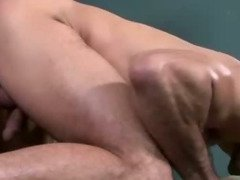 Nasty gay muscley hunks blow their loads