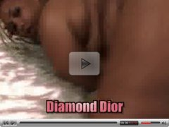 BBW Diamond Dior fucks Shorty