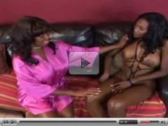 Candace Von and Nyomi Banxxx play with each other