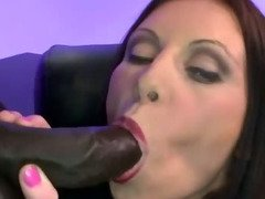 Bukkake fetish cum slut fucking and sucking