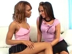 Hot Ebony Hoes Licking Each Other
