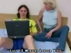 Blond Mom Son Sex