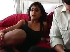 Tipsy MILF Priya Rai Needs To Have Intense Orgasms So Seduces Her Son?s Friend