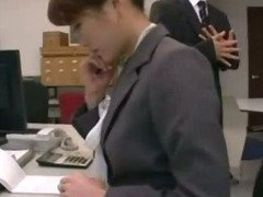 japan office lady