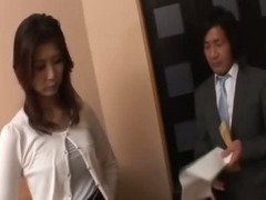 Horny businessman seduces sexy cougar Nanako Yoshioka in her house