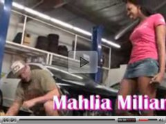 Mahlia Milian works a deal to get her car back