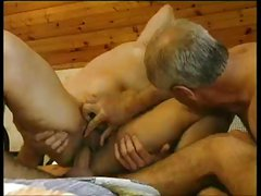Papa - Old Man Watches Youthful Hunk Fuck His Wife