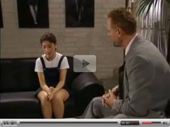 Shy Schoolgirl Sibel Kekilli gets Shaved by snahbrandy