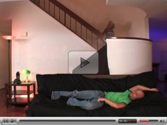 Madison Ivy comes downstairs for action
