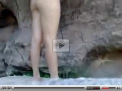 Amateur couple doggystyle outdoor