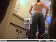 SpyCam - Teen In Bathroom