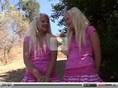 Hot Marissa and Wild Melissa - Naked on the plateau
