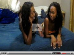 Hot Young Ebony Girlfriends Enjoy Themselves