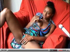 Exotic Ebony Orgasm