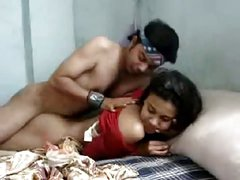 Young Indian couple fuck