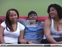 Sexy Latinas First 3some Video
