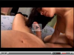 brunette gf making love with her bf