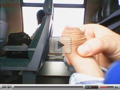 Train Masturbation (mixed clips)