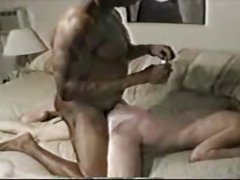submissive mature lady used by a black dude