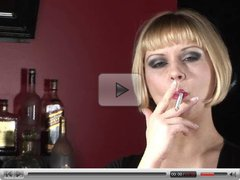 Aaralyn Barra - Smoking Fetish at Dragginladies.com